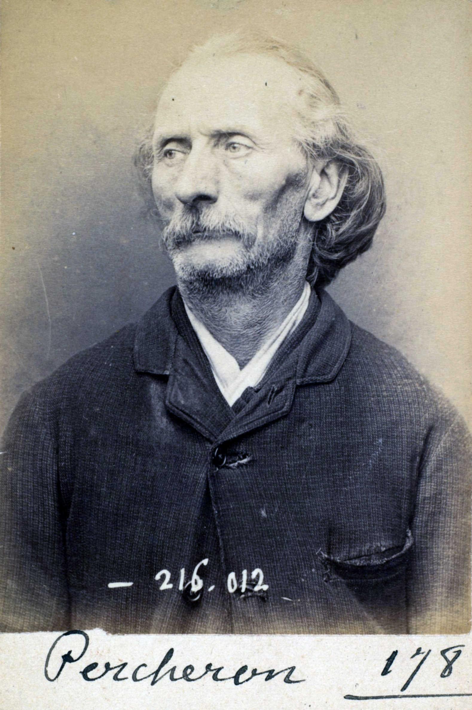 Fotografia policíaca d'Auguste Percheron (21 de març de 1894)