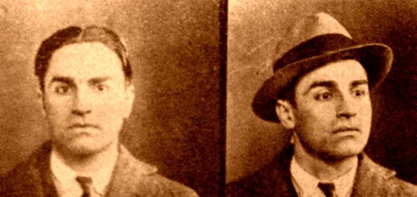 Foto policíaca de Celso Persici (anys trenta)