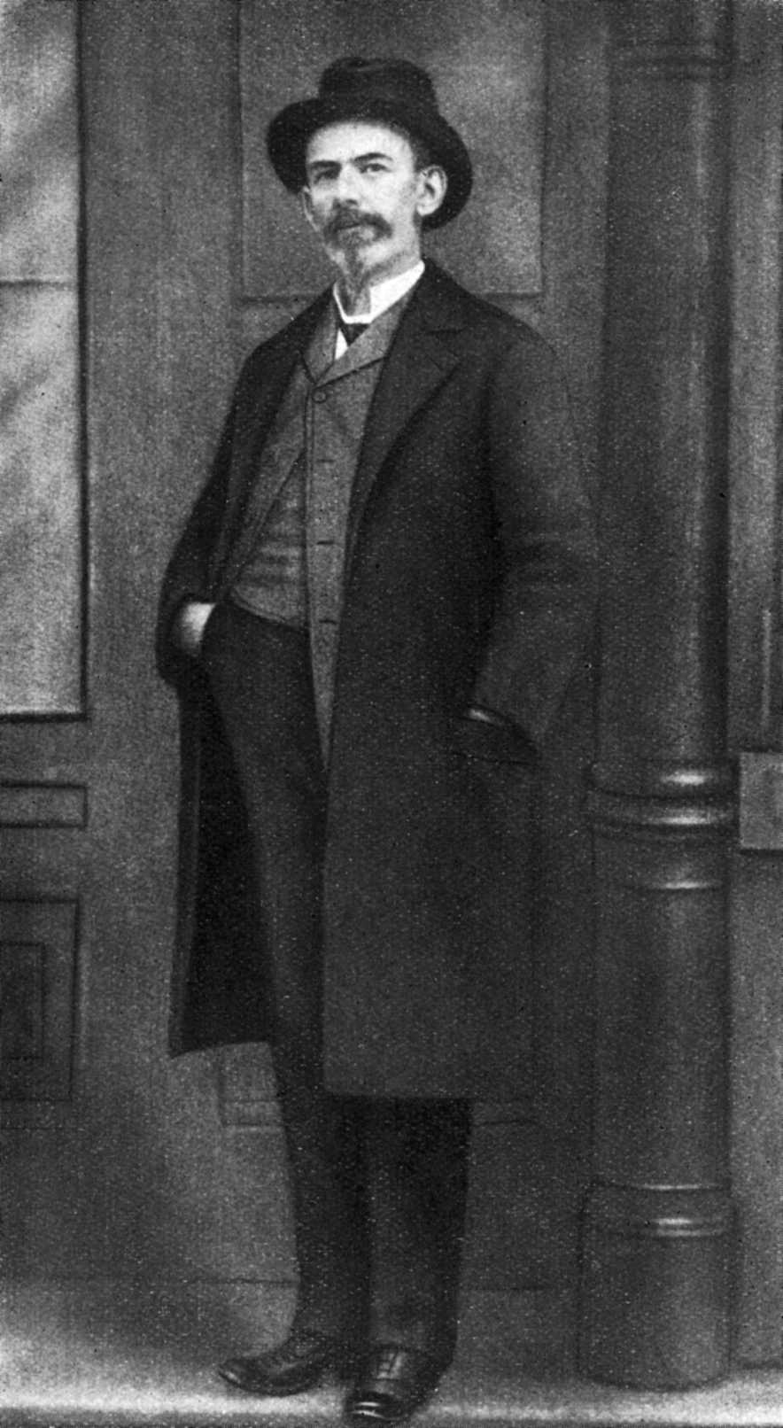 Josef Peukert fotografiat per Scholl (Chicago, 1906)