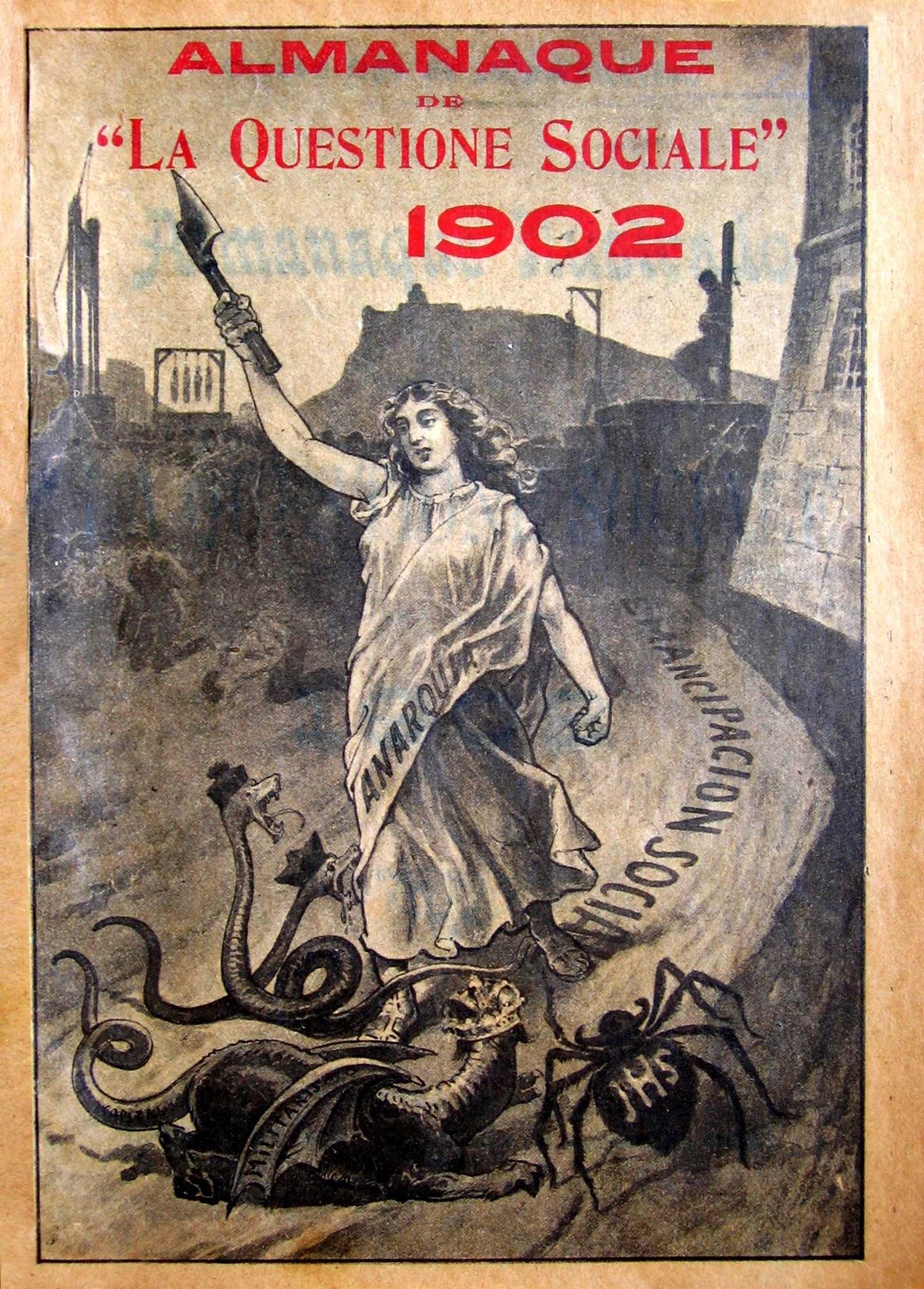 """Almanaque de """"La Questione Sociale"""" (1902)"""