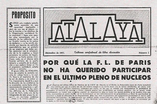 """Capçalera d'""""Atalaya"""""""