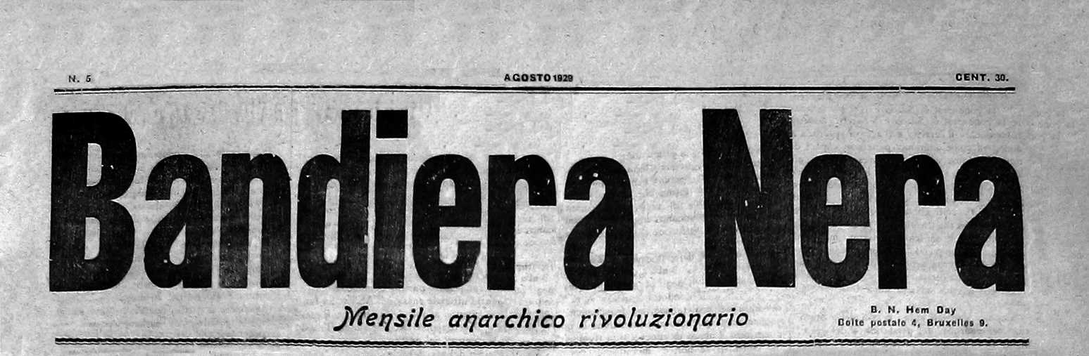 "Capçalera de ""Bandiera Nera"""
