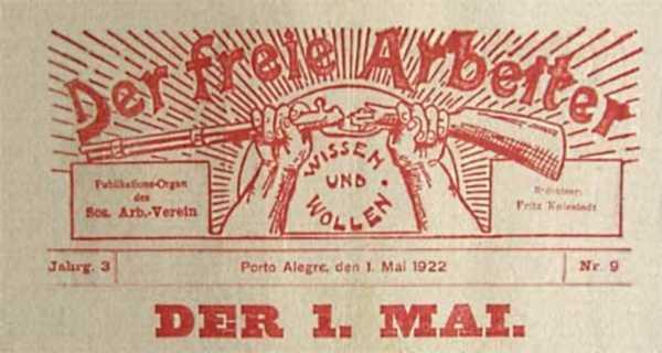 """Capçalera de """"Der Freie Arbeiter"""""""