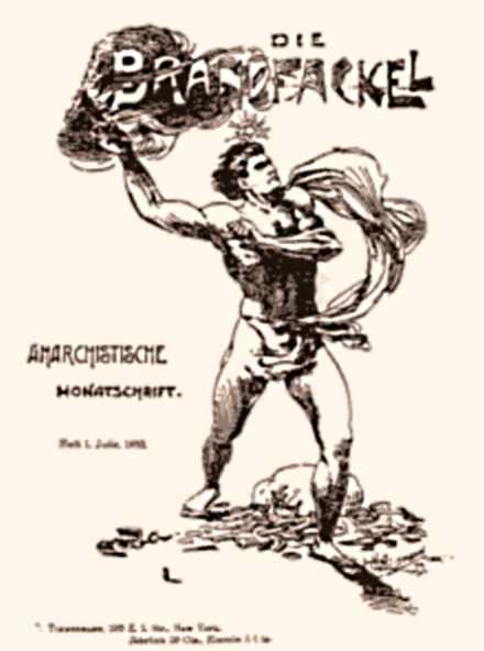 """Portada del primer número de """"Die Brandfackel"""""""