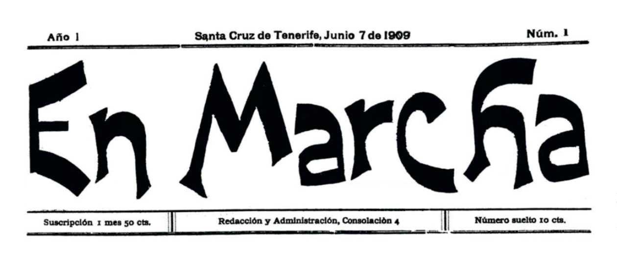 """Cabecera de """"En Marcha"""""""