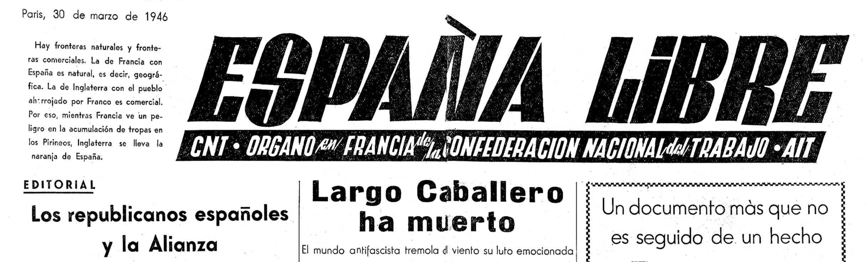 "Capçalera d'""España Libre"""