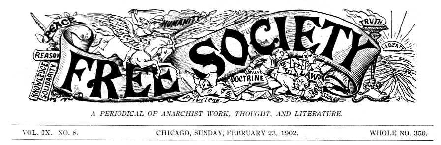 "Capçalera de ""Free Society"""