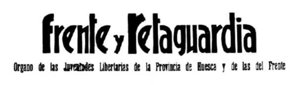 """Capçalera de """"Frente y Retaguardia"""""""