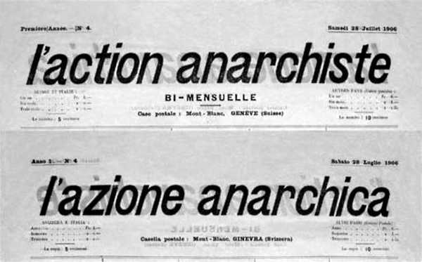 "Capçalera de ""L'Action Anarchiste"""