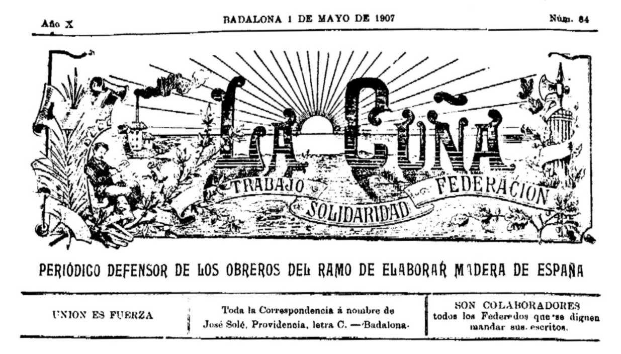 """Cabecera de """"La Cuña"""""""