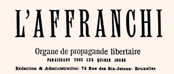 """Capçalera de """"L'Affranchi"""""""