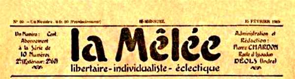 "Capçalera de ""La Mêlée"""