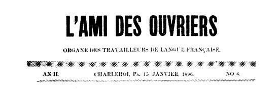"""Calçalera de """"L'Ami des Ouvriers"""""""