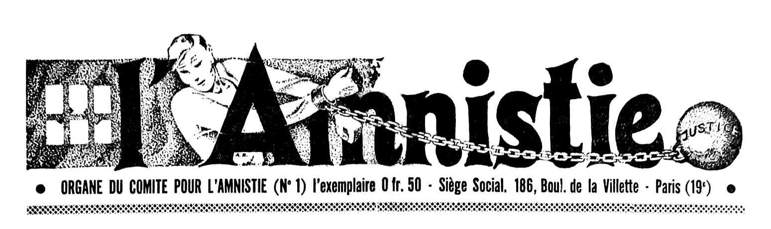 "Capçalera de ""L'Amnistie"""