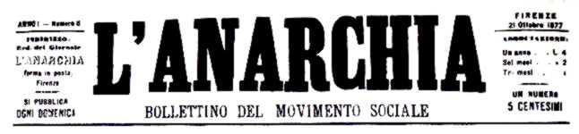 """Capçalera de """"L'Anarchia"""""""