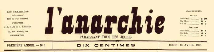 "Capçalera de ""L'Anarchie"""