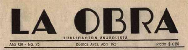 """Capçalera de """"La Obra"""""""
