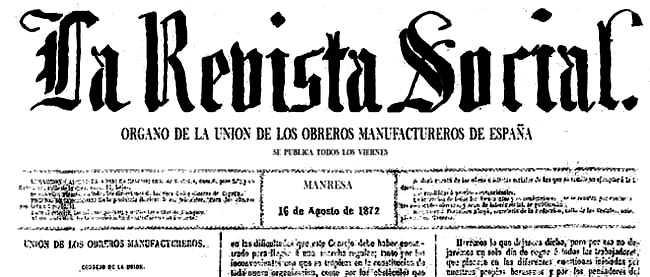 """Capçalera de """"La Revista Social"""""""