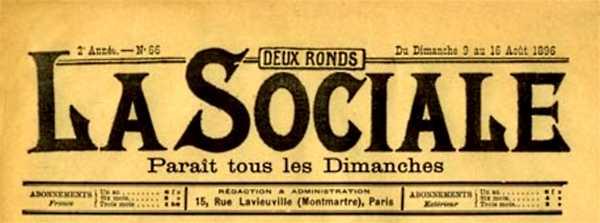 "Capçalera de ""La Sociale"""