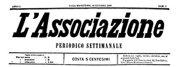 "Cabecera de ""La Associazione"""