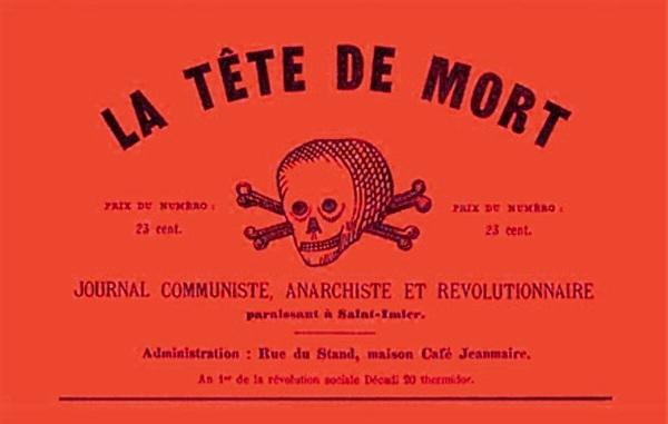 """Capçalera de """"La Tête de Mort"""""""