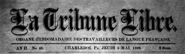 """Capçalera de """"La Tribune Libre"""""""