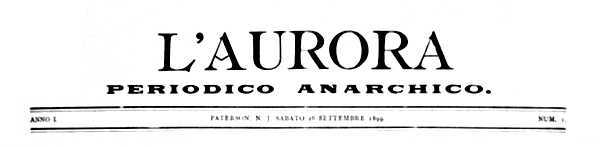 """Capçalera de """"L'Aurora"""""""