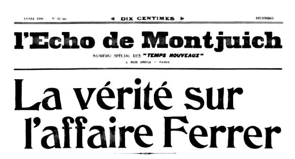 "Capçalera de ""L'Écho de Montjuich"""