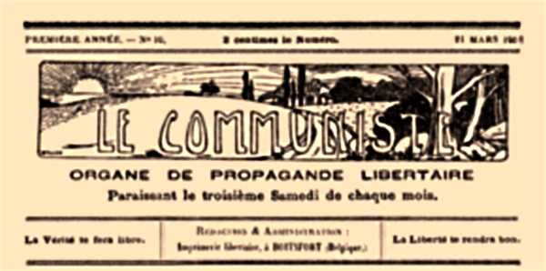 "Capçalera de ""Le Communiste"""