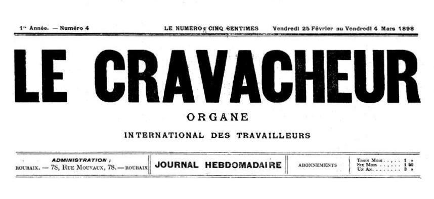"""Capçalera de """"Le Cravacheur"""""""