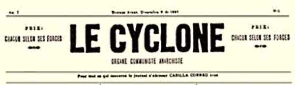 """Capçalera de """"Le Cyclone"""""""