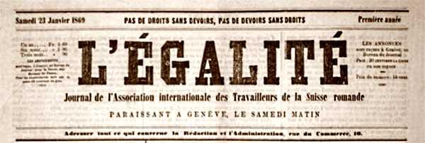 """Capçalera de l'""""Égalité"""""""
