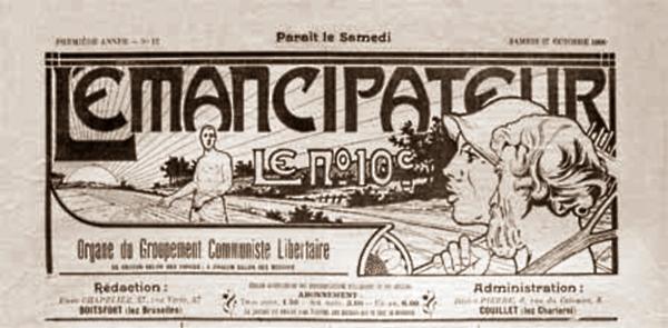 """Capçalera de """"L'Émancipateur"""""""