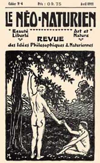 """Portada d'un número de """"Le Néo-Naturien"""""""