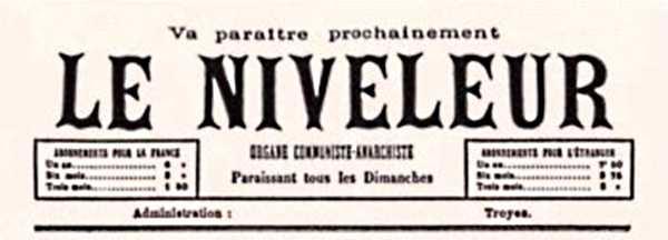 "Cabecera de ""Le Niveleur"""