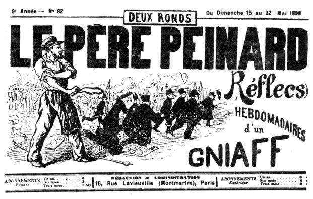"Capçalera de ""Le Père Peinard"""