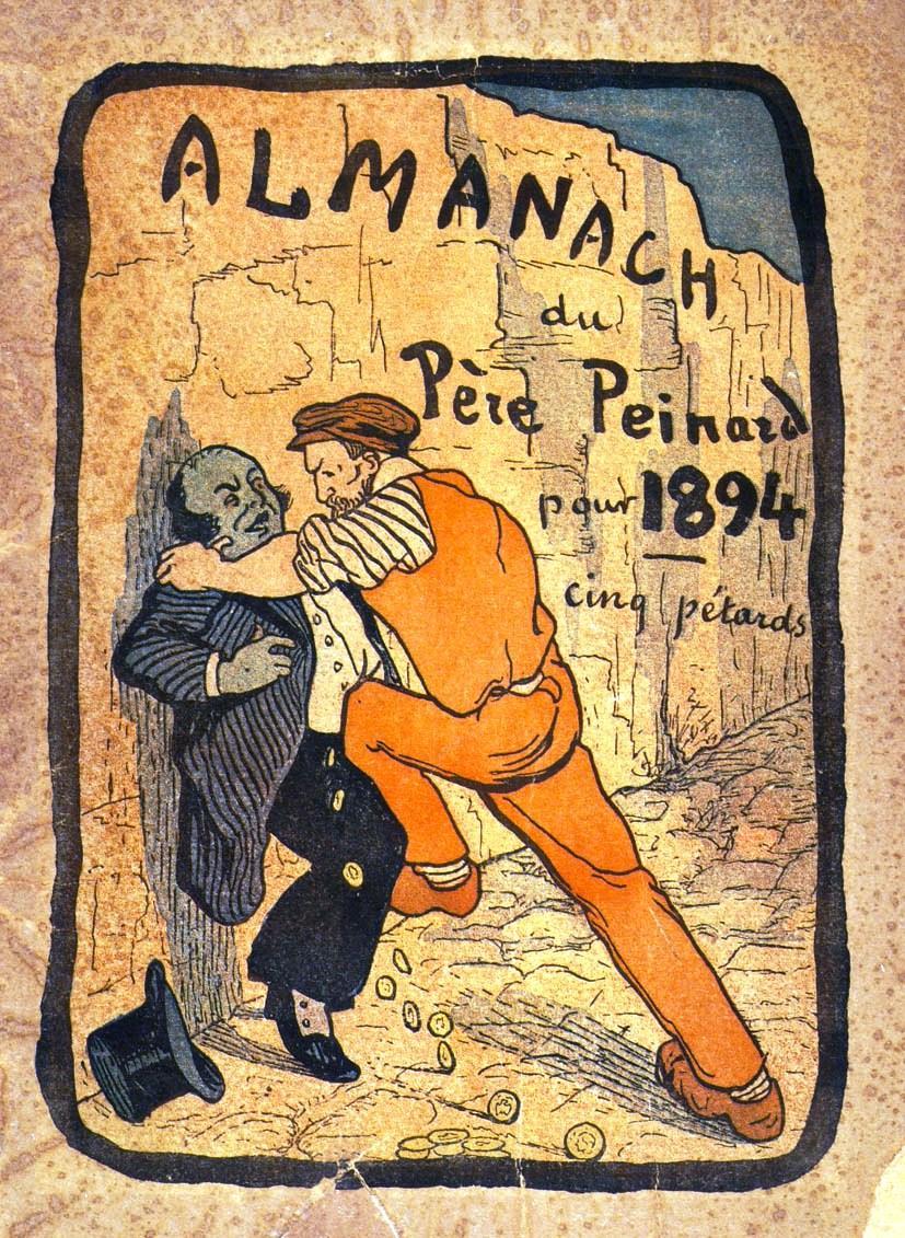 "Portada d'un exemplar de ""Le Père Peinard"""
