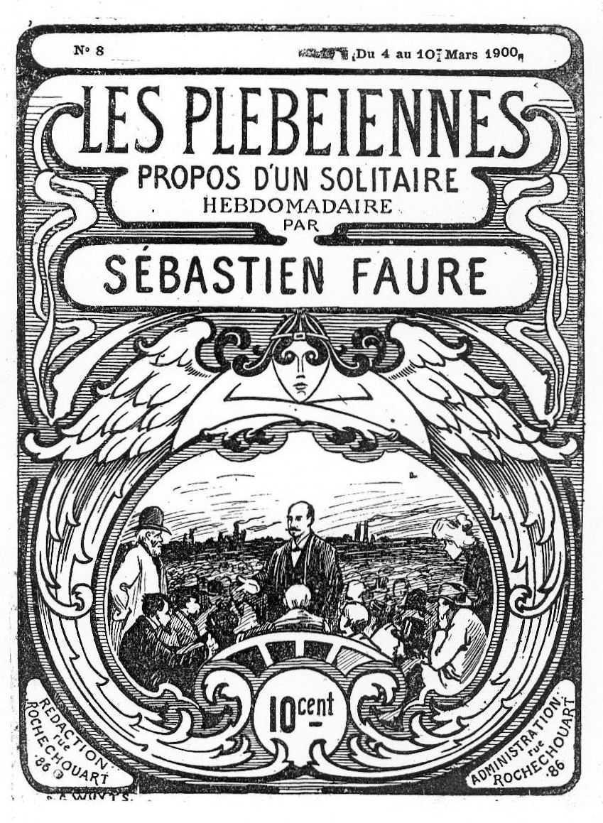 """Portada de """"Les Plébéiennes"""""""