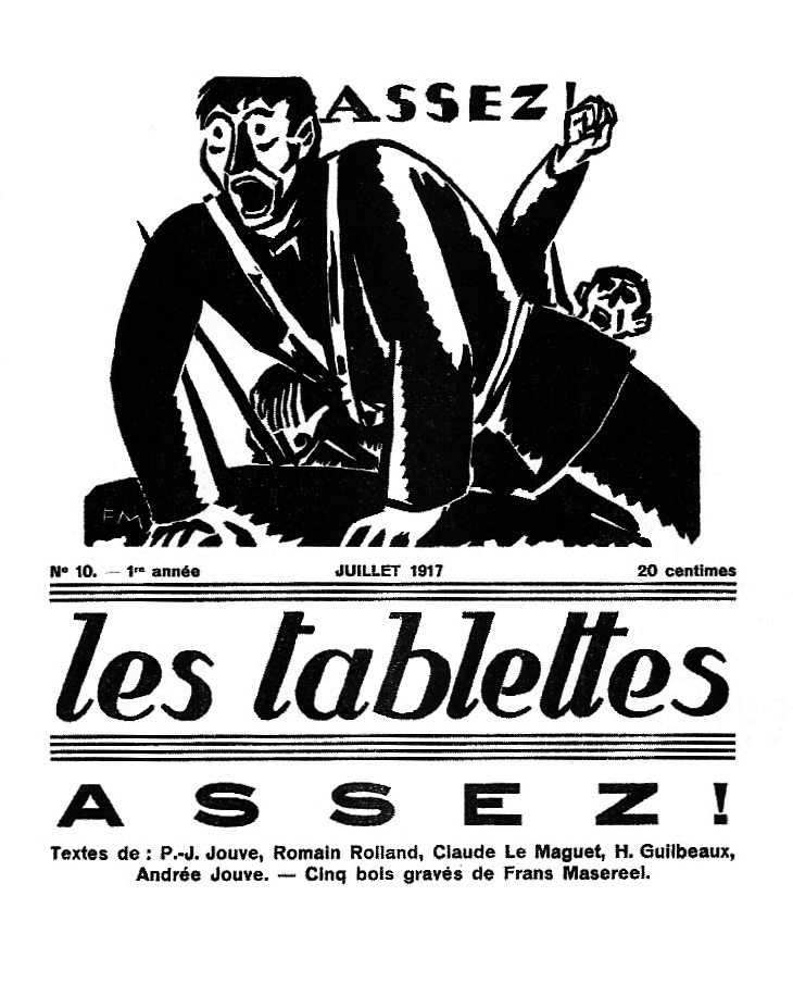 """Un exemplar de """"Les Tablettes"""""""