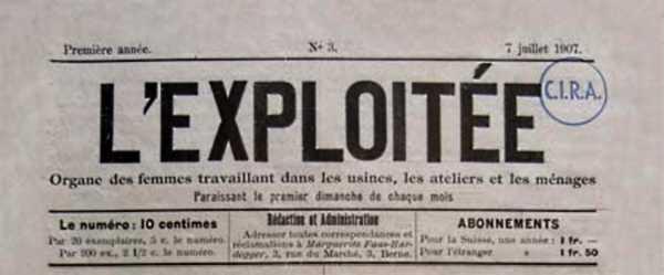 "Capçalera de ""L'Exploitée"" [CIRA - Lausana]"