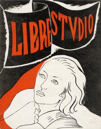 """Portada d'un númer de """"Libre-Studio"""""""