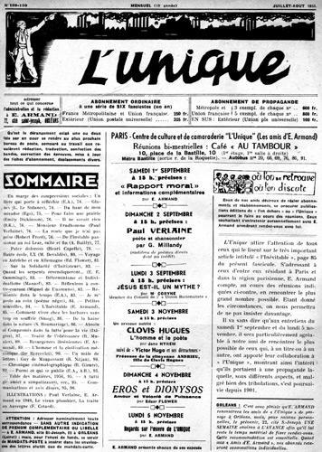 """Un exemplar de """"L'Unique"""" de 1956"""