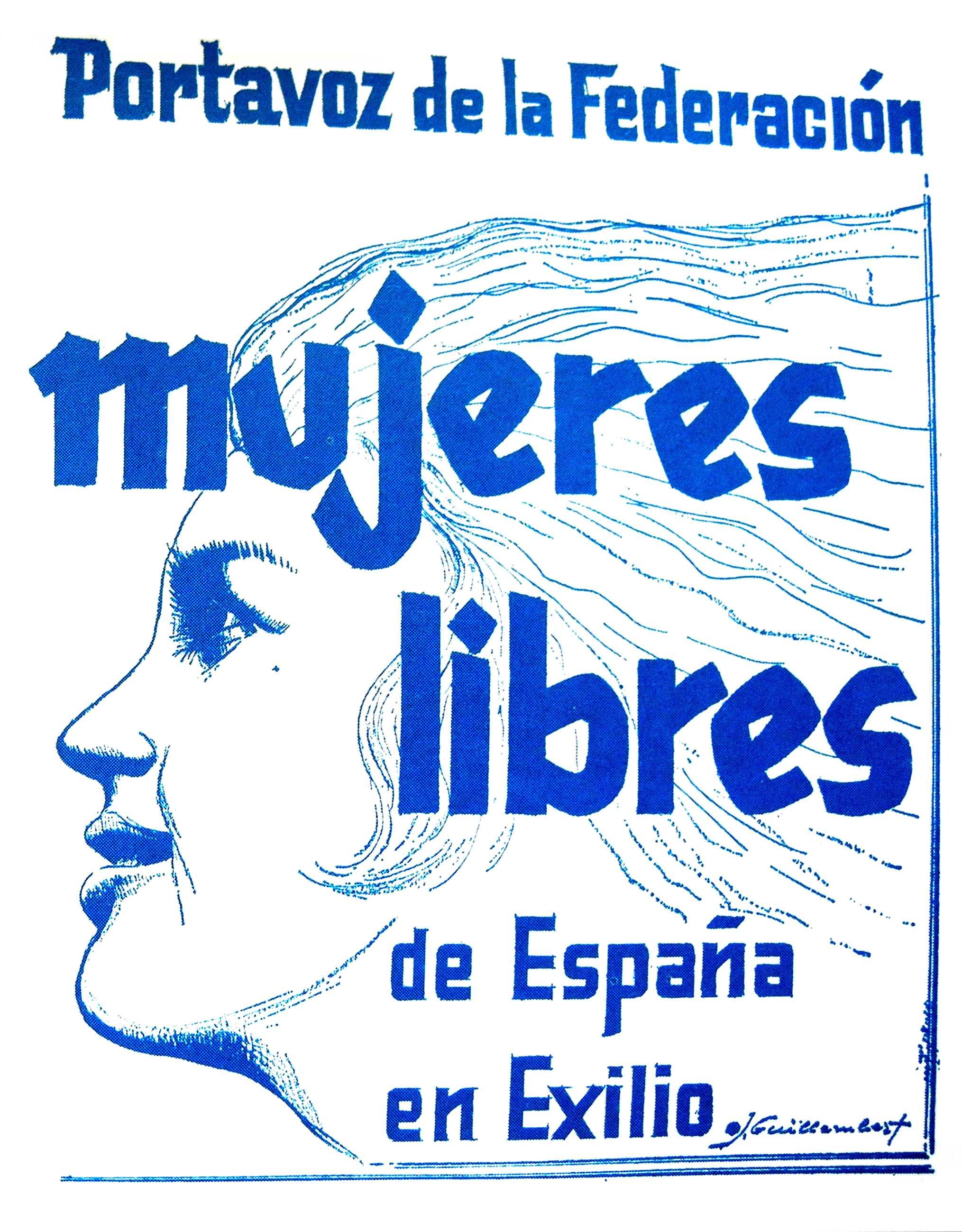 "Portada d'un exemplar de ""Mujeres Libres"" (Montadin, 1972)"