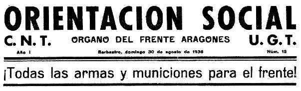 """Capçalera d'""""Orientación Social"""""""
