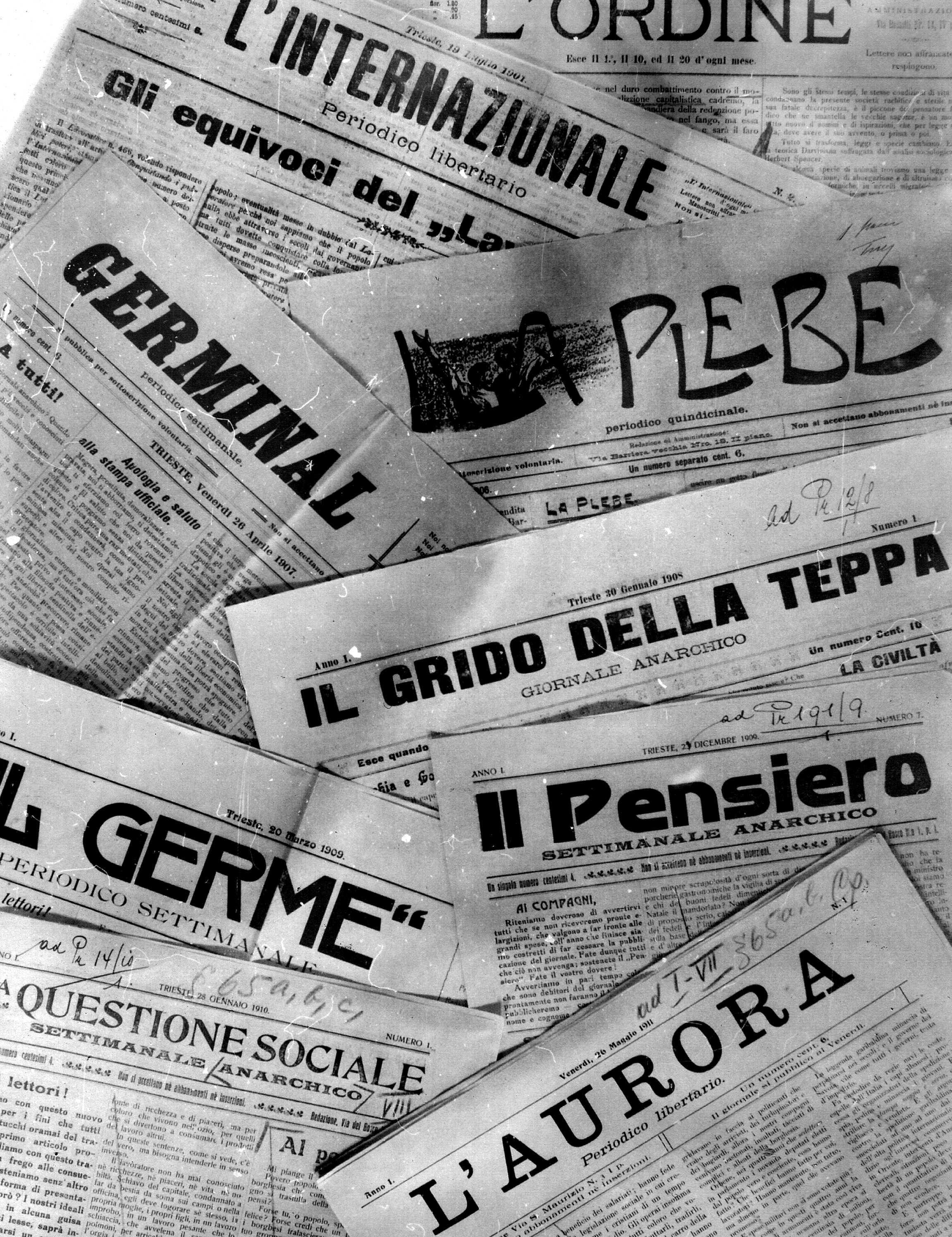 Premsa anarquista italiana