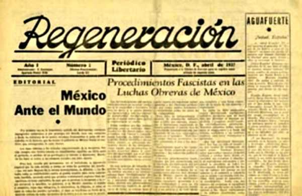 """Capçalera del primer número de """"Regeneración"""" (1937)"""