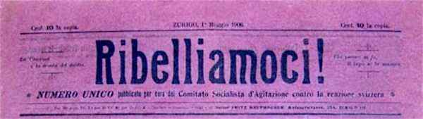 "Capçalera de ""Ribelliamoci!"""
