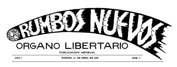 """Capçalera del primer número de """"Rumbos Nuevos"""""""