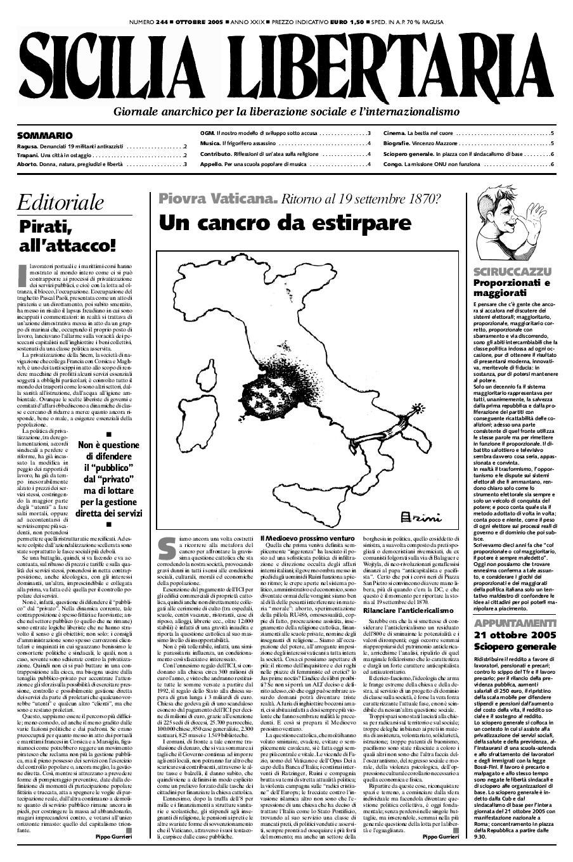 """Un exemplar de """"Sicilia Libertaria"""""""