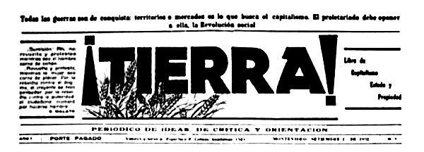"Capçalera de ""¡Tierra!"""